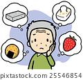 dislike, senior, worried 25546854
