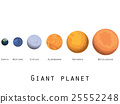 Giant planet. Planets and stars of the universe.  25552248