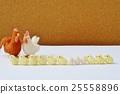병아리, 닭, 양모 펠트 25558896