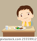boy bored with food 25559912