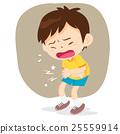 boy have stomach ache 25559914