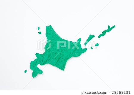 홋카이도 북방 영토지도 이미지 25565181