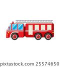 矢量 矢量图 救火车 25574650