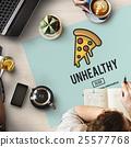 Calories Junk Food Unhealthy Obesity Concept 25577768