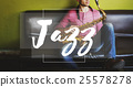 Jazz Music Genre Instrumental Rhythm Melody Sound Concept 25578278