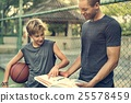 Basketball Athlete Sport Skill Playing Exercise Concept 25578459