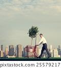 Businessman Entrepreneur Profit Build Concept 25579217