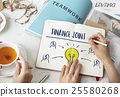 Finance Joint Planning Balance Banking Budget Concept 25580268
