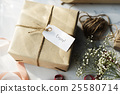 Message Label Tag Card Present Gift Concept 25580714