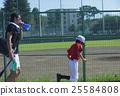 青少年棒球 教練 奔跑 25584808
