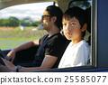父母和小孩 休假 假期 25585077