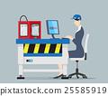 Factory Automation Concept. 25585919