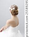 wedding bride hair 25589295