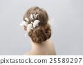 wedding bride hair 25589297