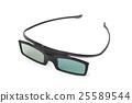 3d glasses 25589544