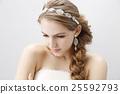 wedding bride hair 25592793