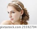 wedding bride hair 25592794
