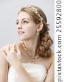 婚禮 新娘 漂亮 25592800