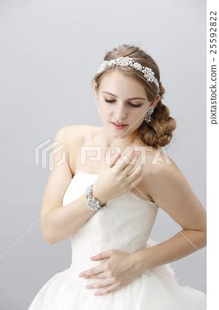 婚禮 新娘 漂亮 25592822