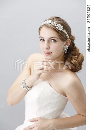 婚禮 新娘 漂亮 25592826