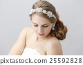 婚禮 新娘 美髮用品 25592828