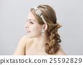 wedding bride hair 25592829