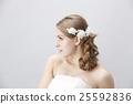 婚禮 新娘 美髮用品 25592836