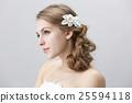 婚禮 美髮用品 新娘 25594118