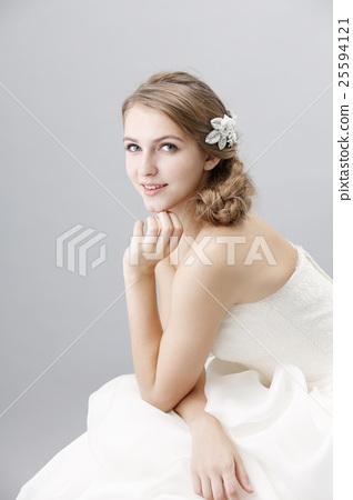 婚禮 結婚禮服 婚紗 25594121