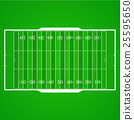 American football realistic, textured field 25595650