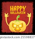 pumpkin rock n roll style halloween greeting card 25598837