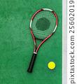 Racket Tennis Ball Sport Equipment Concept 25602019