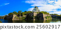 大阪城堡藍天 25602917