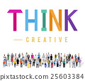 Think Thoughtful Visionary Creative Determination Concept 25603384