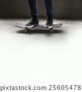Skateboard Extreme Sport Skater Park Recreational Activity Concept 25605478
