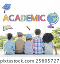 academic, children, group 25605727
