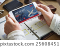 Air Ticket Flight Booking Concept 25608451