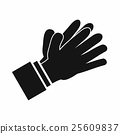 Clapping applauding hands icon, simple style 25609837