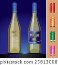 wine, mockup, vector 25613008
