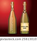 wine, mockup, vector 25613010