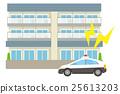 警车 巡逻车 公寓 25613203