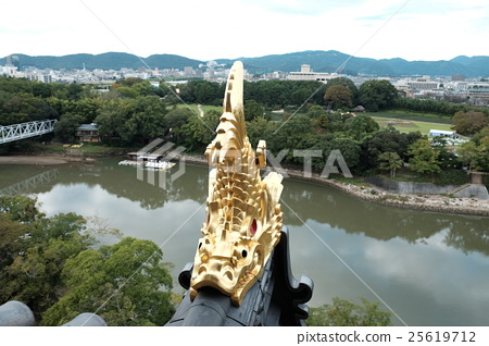 Okayama castle Shachihoko 25619712