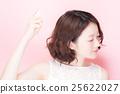 뷰티 초상화 여성 25622027