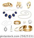一组 一套 珠宝 25625331