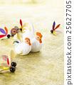 닭, 장식물, 연하장 소재 25627705