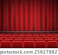 stage, curtain, theater 25627882