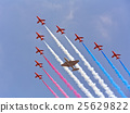 Planes flying in formation 25629822