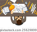 Vector illustration. Engineering and architecture 25629899