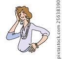 盛裝打扮 女性 女 25638390