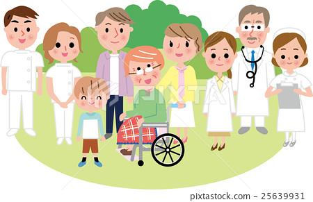 세 가족 입원 안심 의료 25639931